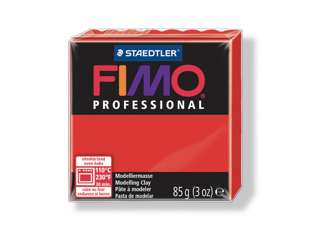 Fimo Professional - True red