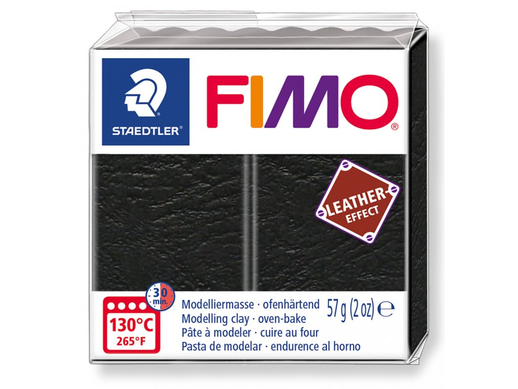 Fimo Leather - Black