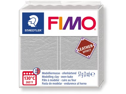 Fimo Leather - Dove grey