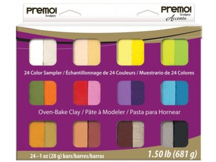premo sculpey multipack sampler pack 24
