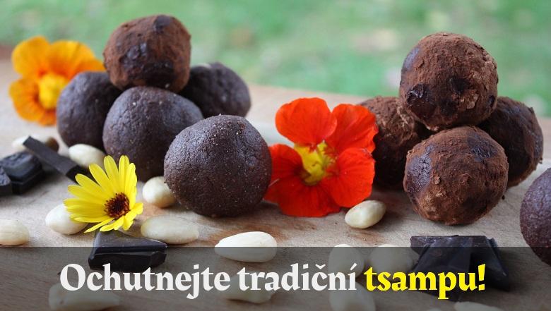 Tradiční tsampa - Přejeme Vám dobrou chuť.