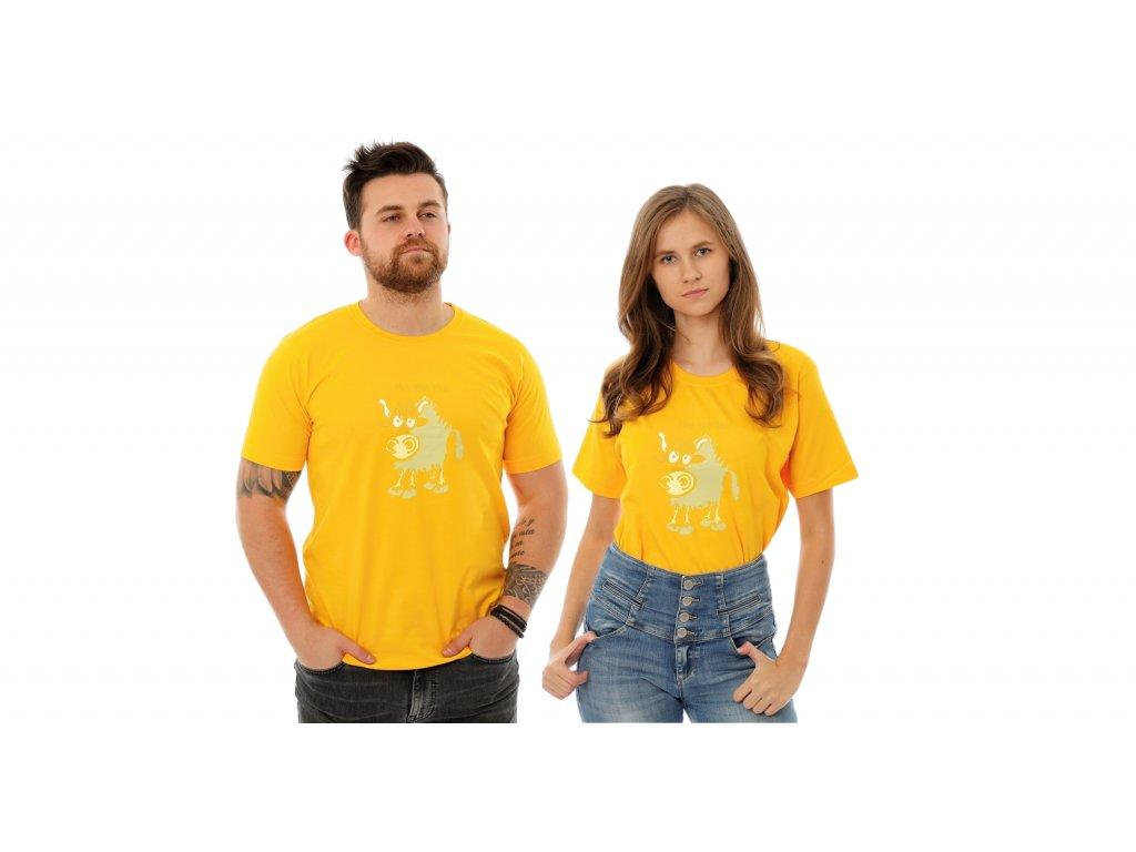 yak žlutý
