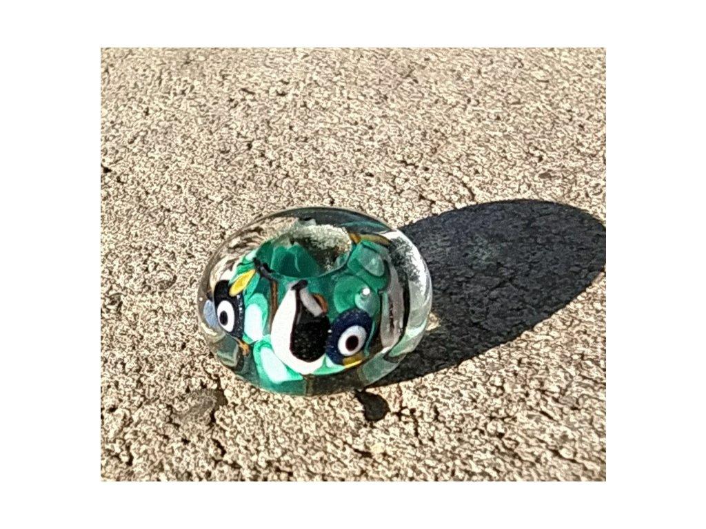 Skleněná perla vrabčí  pohádka