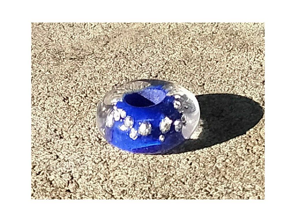 Skleněná perla slzy malé mořské víly