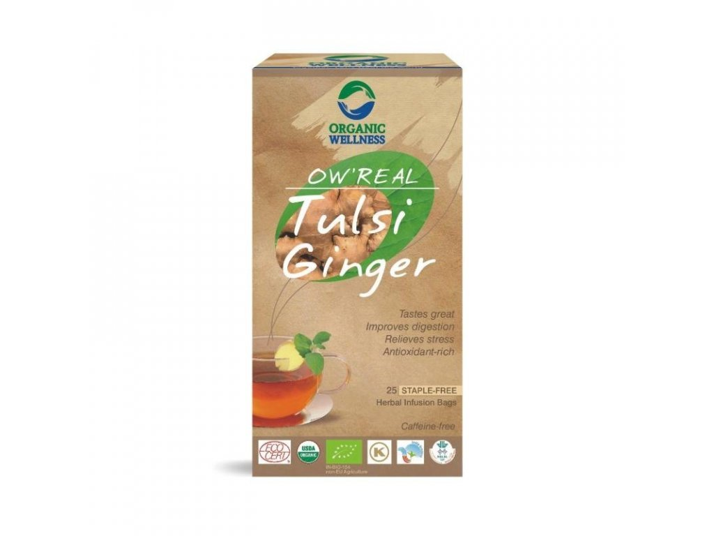 Čaj BIO Tulsi Ginger
