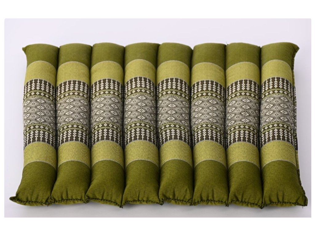 meditacni polstar podsedak zeleny