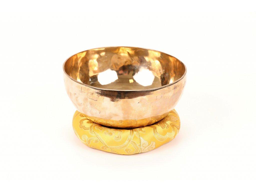 podlozka pod tibetskou misu brokat zluta