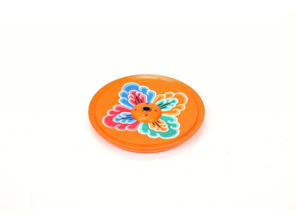 Stojánek oranžový květ