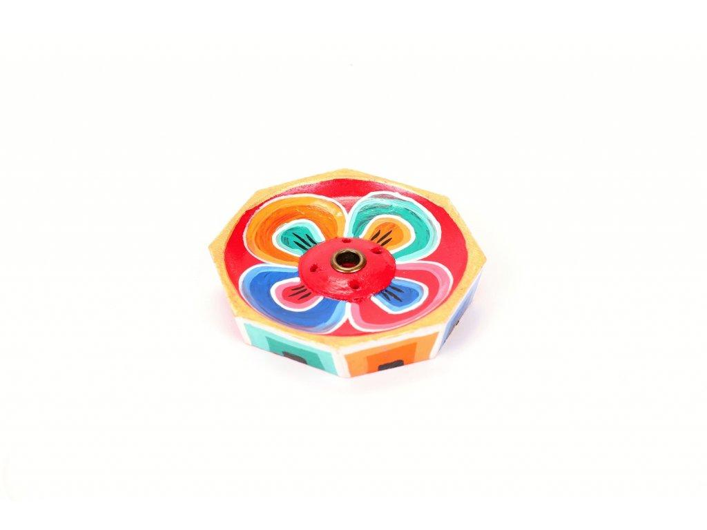 stojanek malovany lotos
