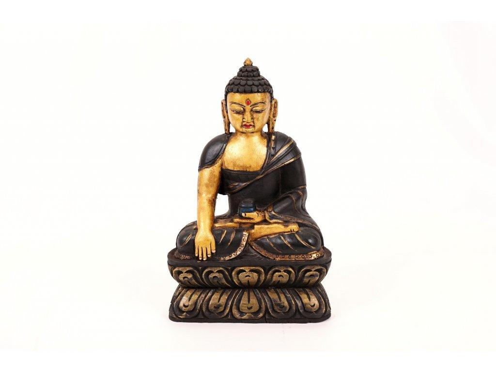 Soška Buddha pozlacený