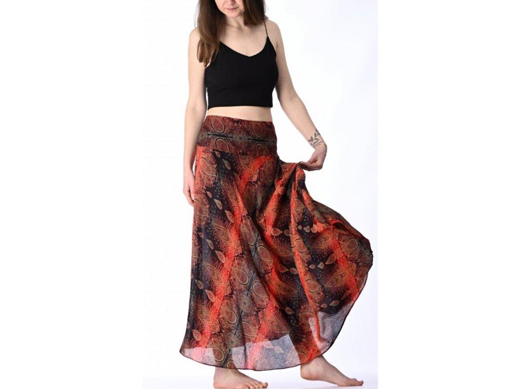 sukne letni ohniva