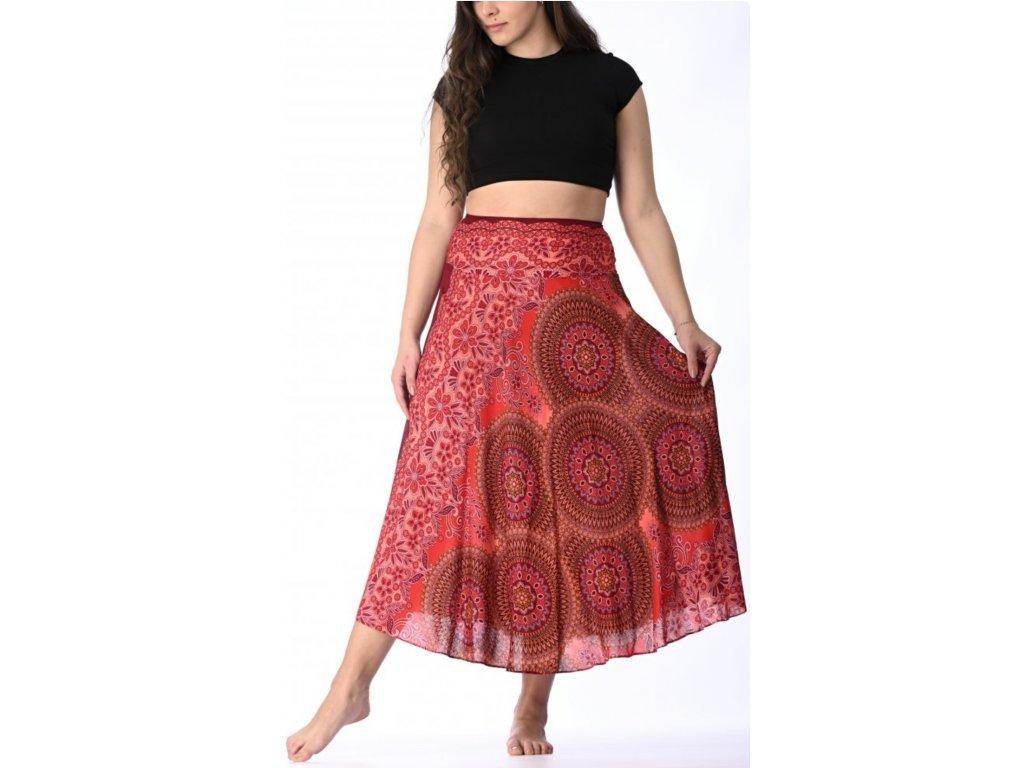 sukne cervene mandaly