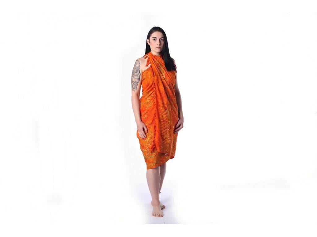 oranzovy sarong (1)