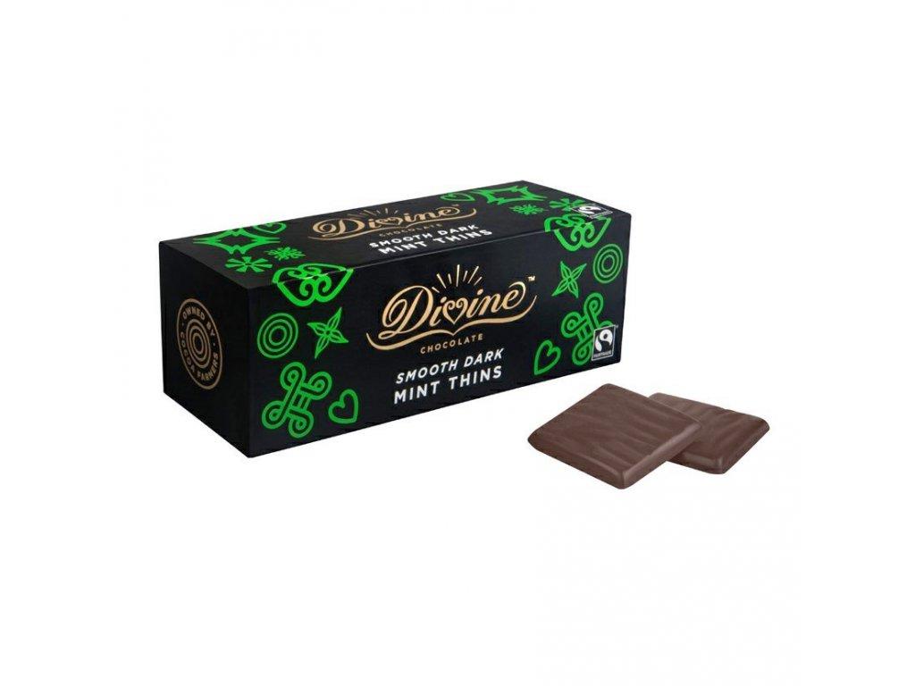 divine psanicka v horke cokolade s matovou naplni