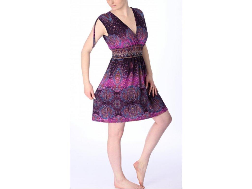 šaty falové