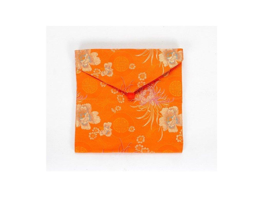 Obal na knihu A5 - oranžový