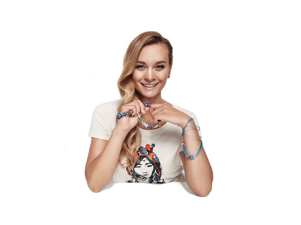 Bára Mottlová triko s tibetankou