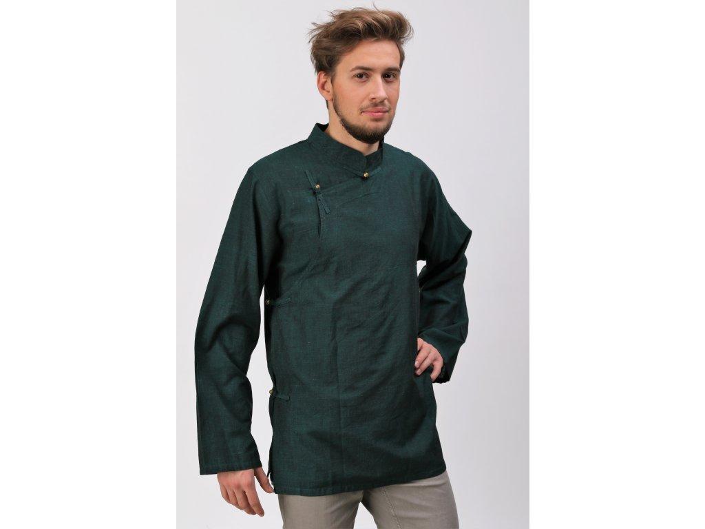 Tibetská košile zelená