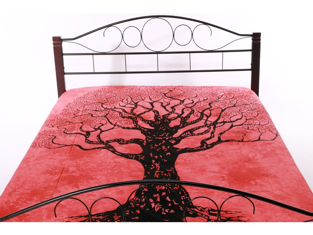 Přehoz strom - červený