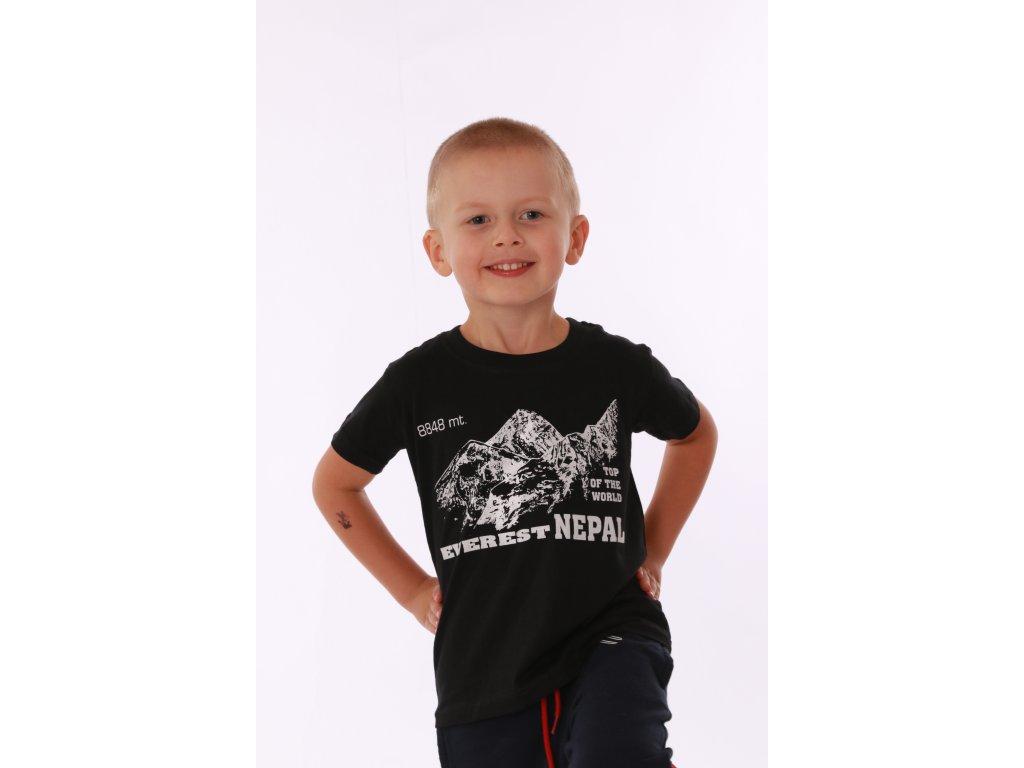 Dětské tričko Everest černé