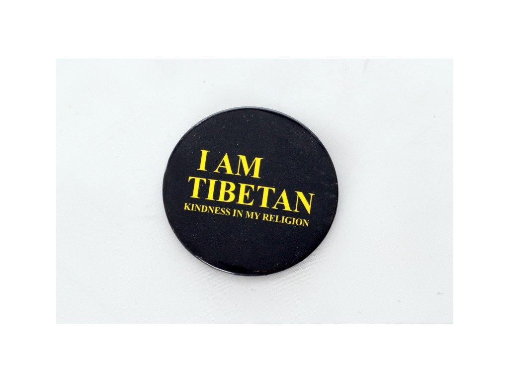 """Button """"I AM TIBETAN"""""""