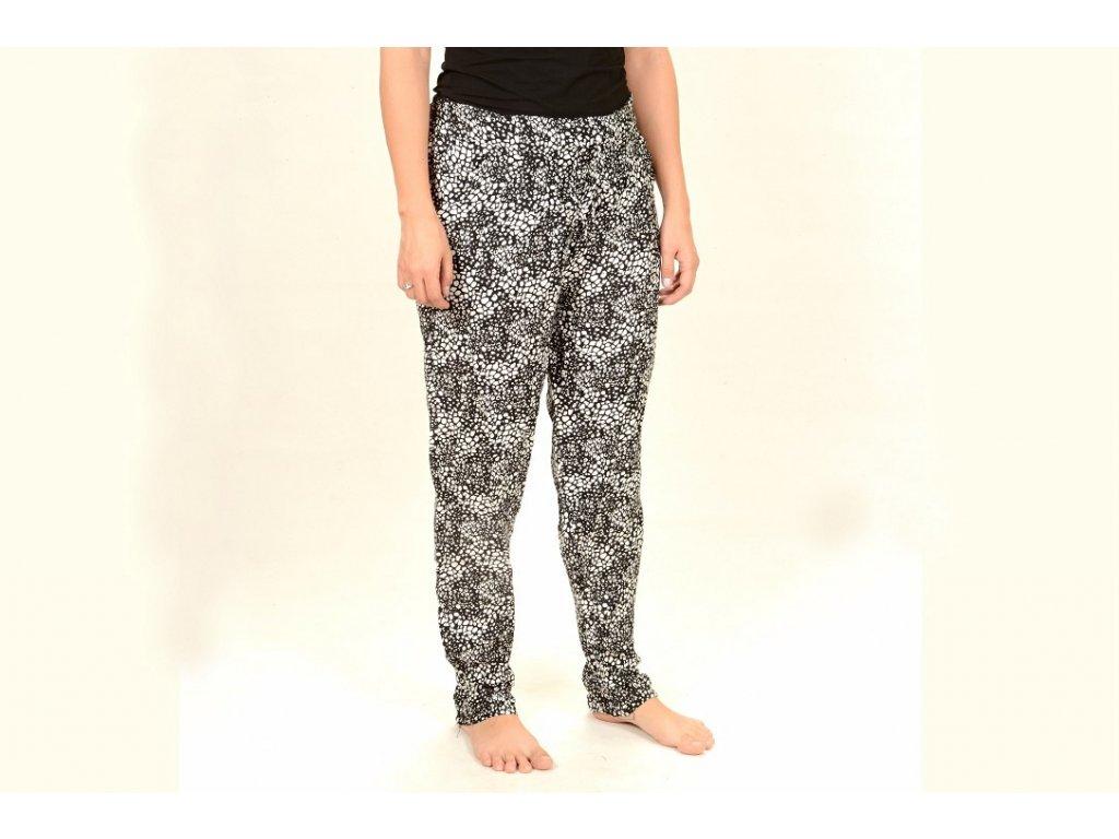 Kalhoty dámské puntíky 46a92152ab