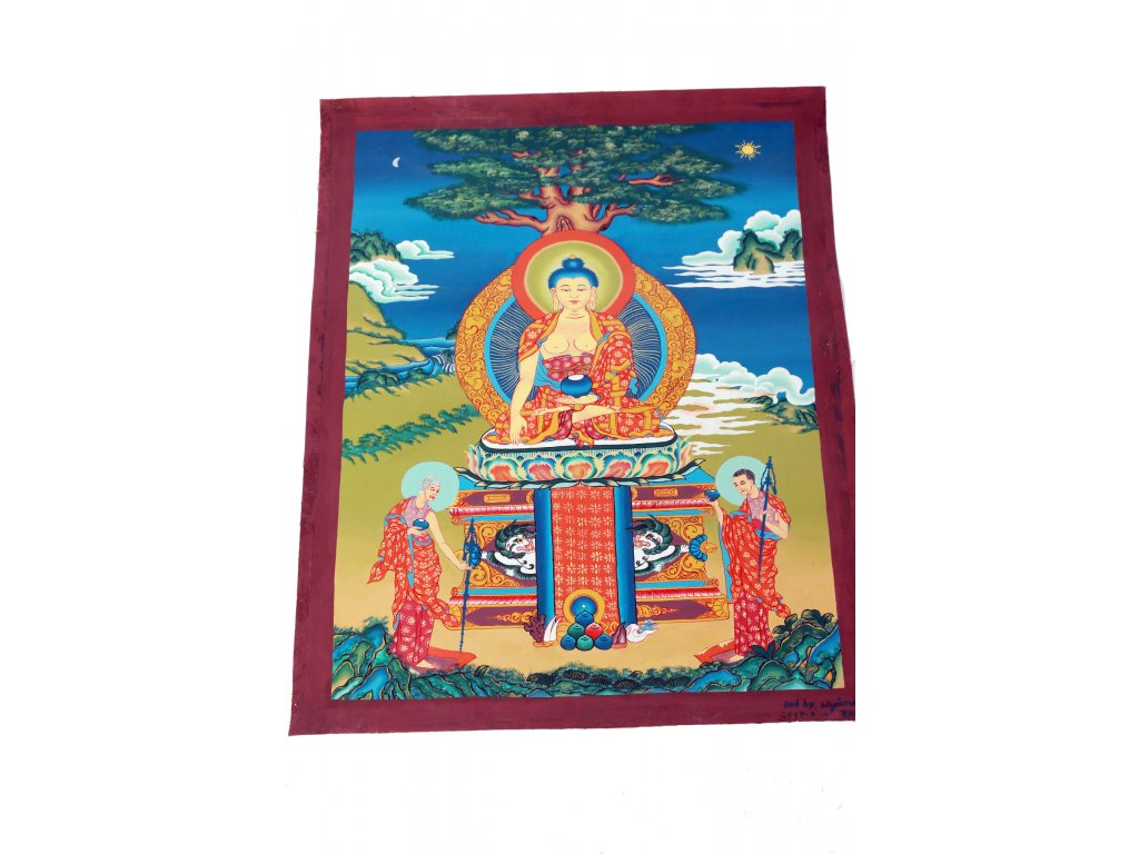 Thangka Buddha