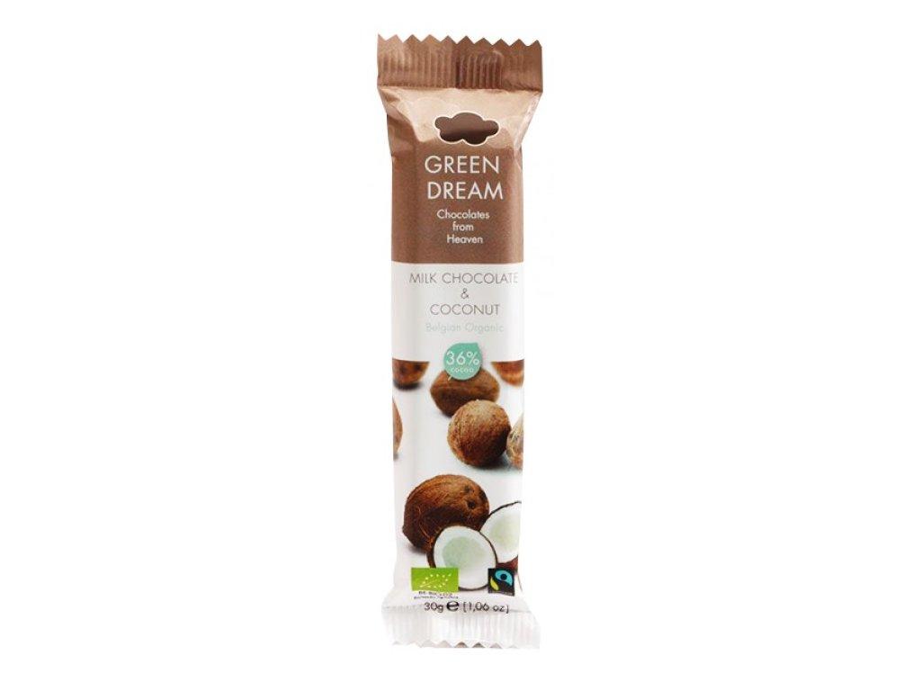 cokoladova tycinka kokos