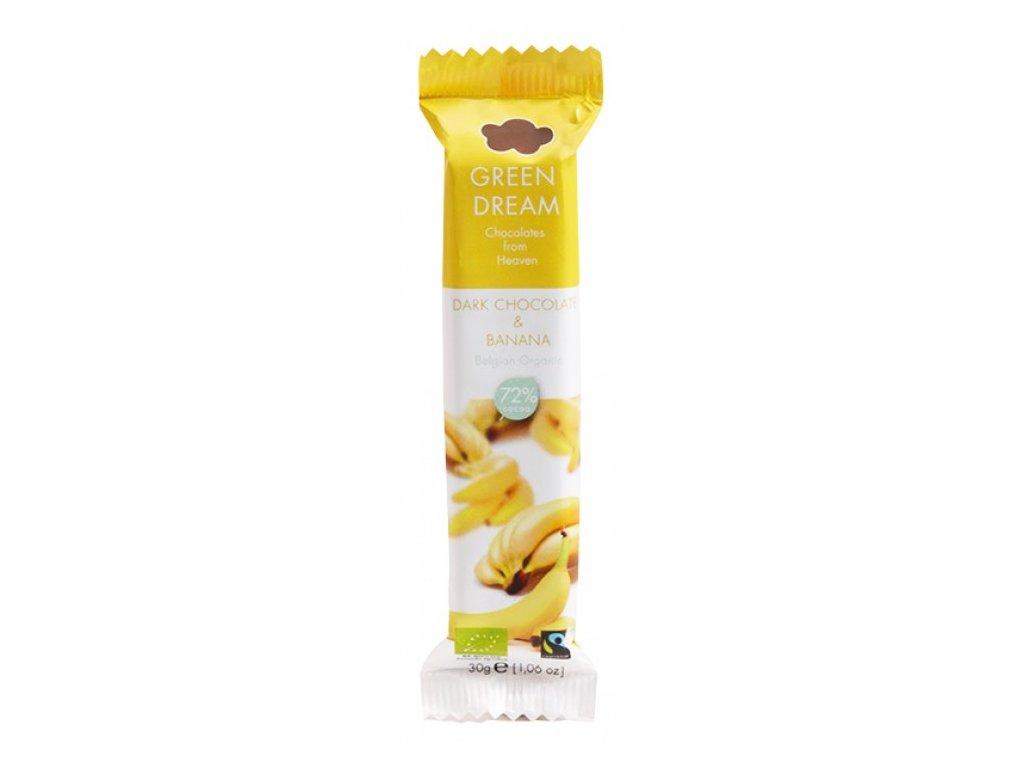 cokoladova tycinka horka BIO banan