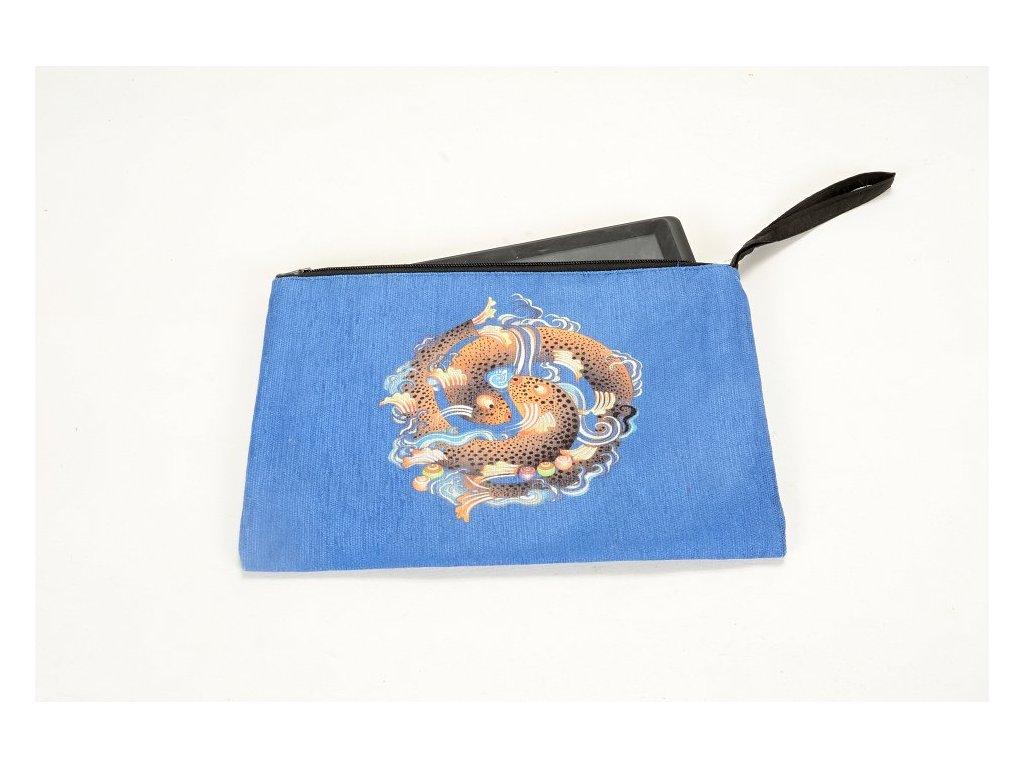 Kosmetická taška univerzální - Zlaté ryby