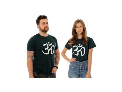Tričko Om zelené