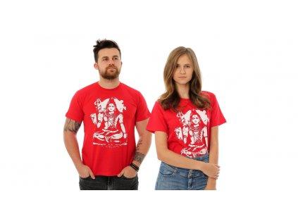 Tričko Šiva červené