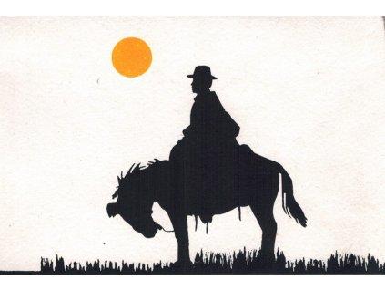 Přání s nomády - muž na koni