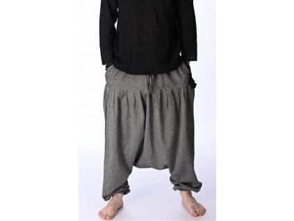 kalhoty haremove sede