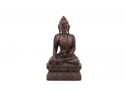 Buddha 30 cm dreveny