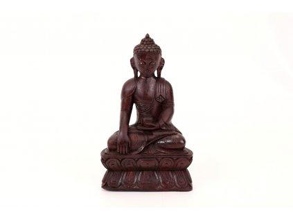Soska Buddha drevena 25 cm