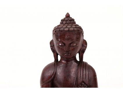 Soska dreveny Buddha 25 cm