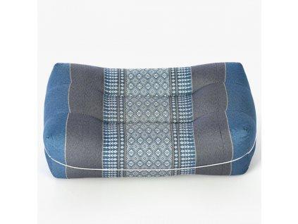 meditacni polstar modry obdelnikovy