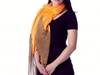 šátek oranžový