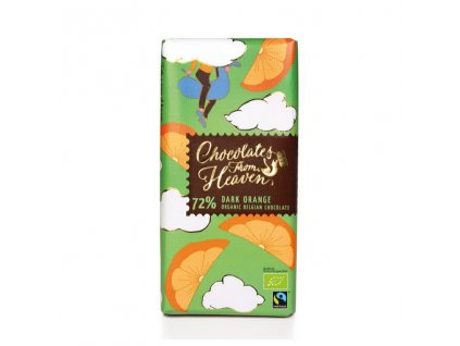 horka cokolada s pomerancem 100g