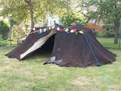 Tradiční nomádský stan
