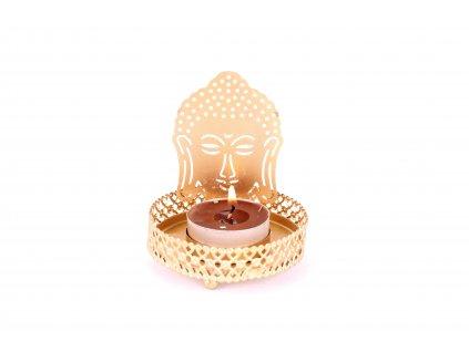 Stojánek na svíčku malý - Buddha