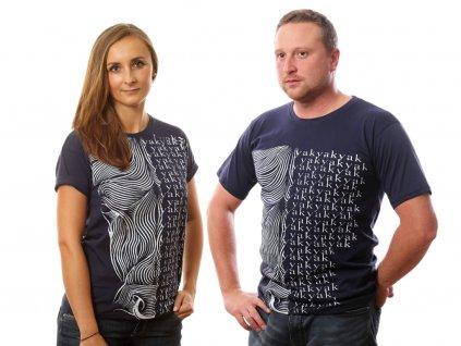 Tričko Yak tmavě modré