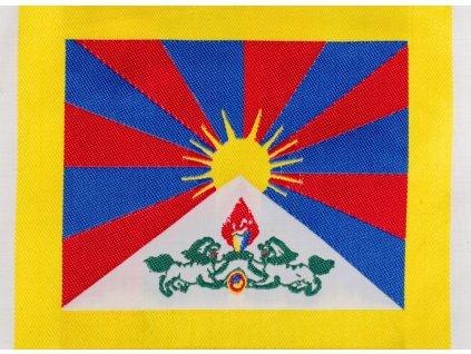 Nášivka - Tibetská vlajka velká