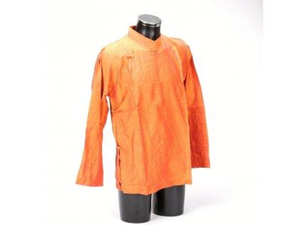 Tibetská košile oranžová