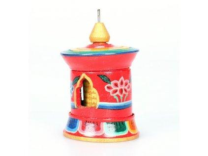 Modlitební mlýnek malovaný stolní