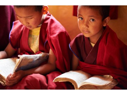 Buddhovy dcery - Ranní půdža ve Spiti