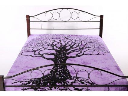 Přehoz strom - fialový