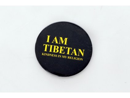 "Button ""I AM TIBETAN"""