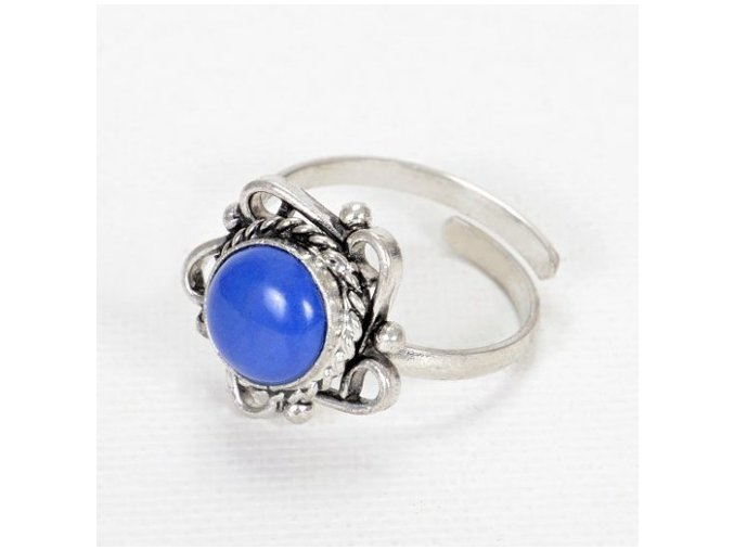 Prsten královsky modrý